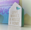 Under £5 Ceramic House Shape Love Makes A House A Home